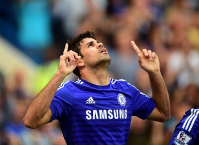 Can Diego Costa continue his hot start?
