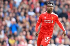 Rodgers reassures Sturridge as Balotelli looms