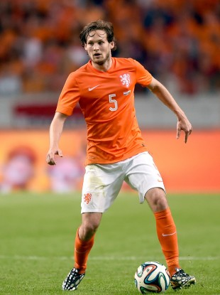 Blind's father, Danny, also played for Ajax and the Netherlands.