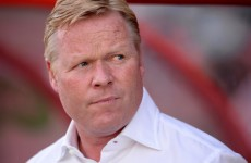 Ronald Koeman stands firm and says Schneiderlin's not going anywhere