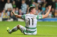 Celtic's Boerrigter accepts two game diving ban