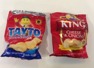 Your next packet of Tayto or King crisps could be used to pick up sound from a conversation.