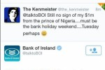 Guy enjoyably trolls Bank of Ireland in wake of payments fiasco