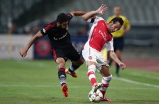No goals in Turkey as Arsenal vs Besiktas ends in stalemate
