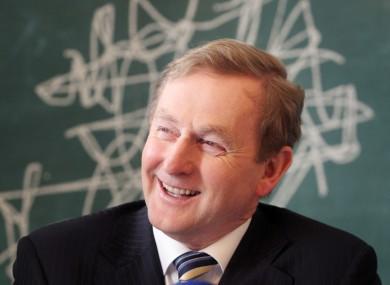 You're up, Taoiseach.