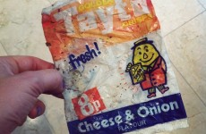 Remember when Tayto packets looked like this?