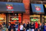 This was the queue to get into the pop-up Central Perk in New York today