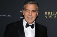 Calm down. George Clooney isn't appearing in an episode of Downton Abbey–just a skit