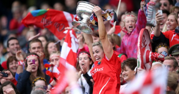 Tears and cheers: 23 pictures that sum up a brilliant All-Ireland Camogie finals day