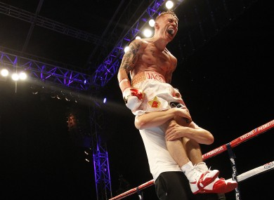 Injury could force Frampton to wait until early 2015 for his first title defence.
