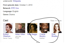 Hold on a minute Google… has Love/Hate's Siobhan been recast?