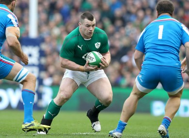 Healy will miss the November Test for Ireland and now faces a race to be fit for the Six Nations in 2015.