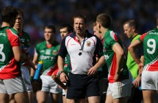 Kerry's All-Ireland winning coach got texts of support from Mayo's squad last week