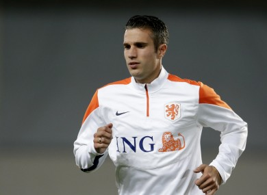 Robin van Persie decided to continue his international career after the World Cup.