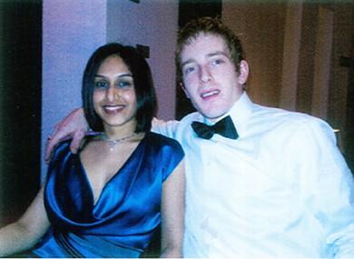 Dhara and Michael Kivlehan.