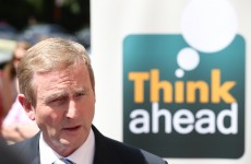 """We're not in a position to write large cheques"": Enda plays down tax-cut talk"
