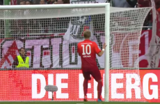 This open-goal miss is the kind of thing strikers have nightmares about