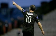 Jason Byrne and Dave Mulcahy roll back the years for Bohs