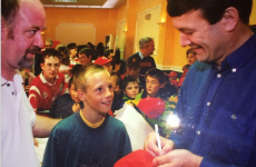 When a young David Meyler met JBM… It's the sporting tweets of the week*
