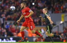 Rickie Lambert vows to train harder in bid to make Liverpool impact
