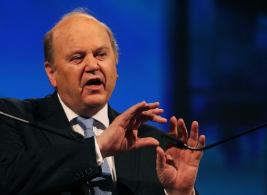 Finance Minister Michael Noonan said Ireland would save €1.5 billion paying its debts off early.