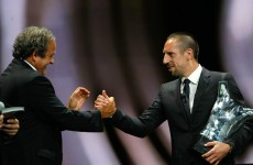 UEFA President threatens to suspend Franck Ribery over refusal to play for France