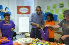 This little girl met Obama and told him she was disappointed that he wasn't Beyoncé