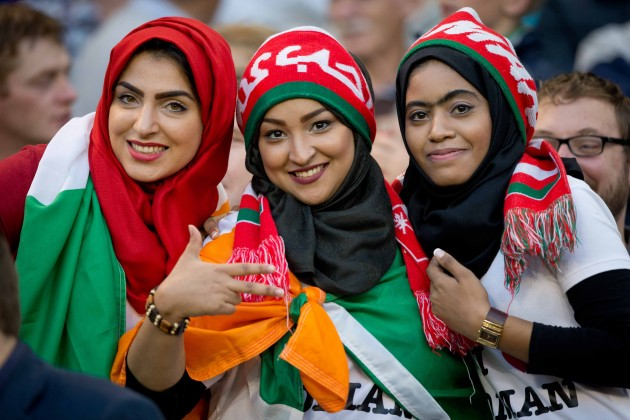 Oman fans
