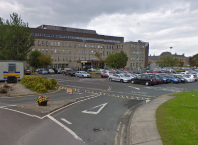 The boy was taken to Letterkenny General Hospital.