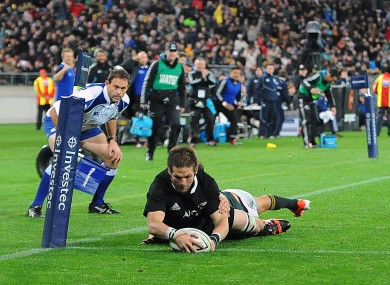 Kieran Read's sumptuous offload for Richie McCaw's try proved the difference.