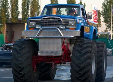 (File Photo) Monster truck