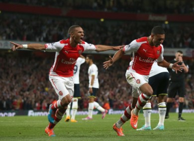 Oxlade-Chamberlain equalised for Arsenal in what was a disappointing derby.