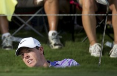 In-form Rory McIlroy up to second as Horschel leads Tour Championship