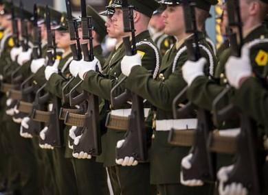 Irish soldiers