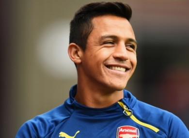 Alexis scored a double at Sunderland on Saturday.