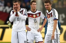 There is no crisis, Germany are just unlucky – Podolski