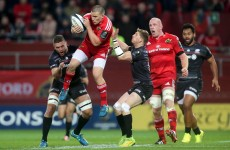 Andrew Conway impresses on a 'good day' for Foley's Munster