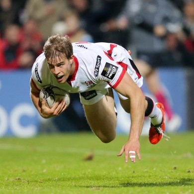 Andrew Trimble has suffered an injury set-back.