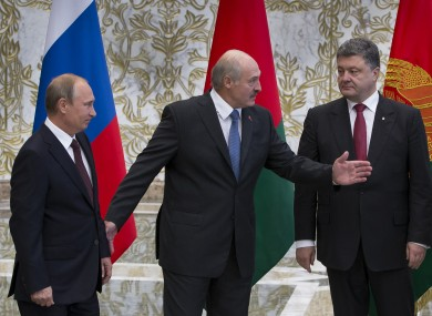 The two leaders last met in August.