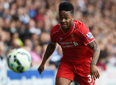 Sterling -- whose contract at Anfield expires in June 2017 -- is believed to be in talks over a new deal.