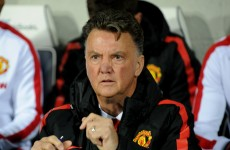 'Arrogant' LVG believes Manchester United can still win the title