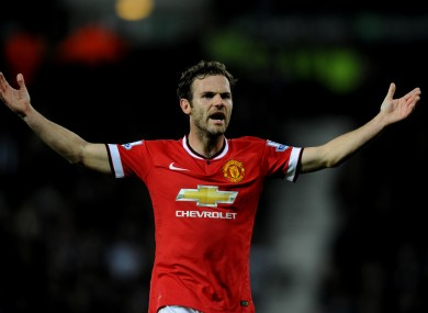 Mata admits he was