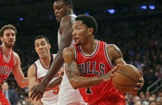 Derrick Rose is back, you guys… and he's still really good at playing basketball