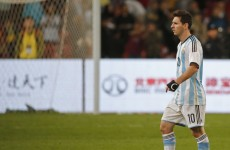 Fan invades the pitch, gets shirt signed by Messi, as Argentina thrash Hong Kong 7-0