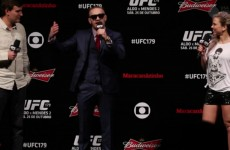 Conor McGregor winds up Brazilians, says he's gonna drag Aldo to Ireland and take belt