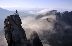 VIDEO: Watch this cyclist pull death-defying stunts on a Scottish mountain
