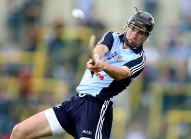 Dublin hurler Danny Sutcliffe was in action for St Jude's today.