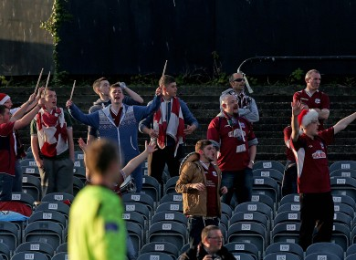 Galway supporters saw their side's place in the promotion playoffs confirmed earlier today.