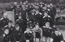 The first stop for these new Sligo county champions was a visit to an old friend
