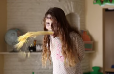 Here's what would happen if the creepy kids from horror films went to the same creche
